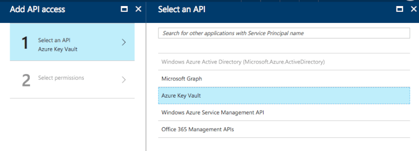 AD Key Vault Permissions: Step 3 - How to Store Secrets in Azure Key Vault Using .NET Core