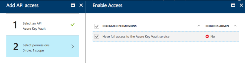 AD Key Vault Permissions: Step 4 - How to Store Secrets in Azure Key Vault Using .NET Core